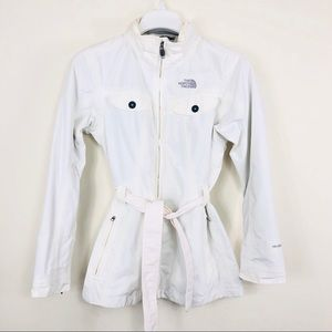 The North Face White Waterproof Rain Jacker Size S